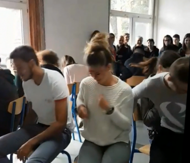 Vidéo intergation SB equipe rose