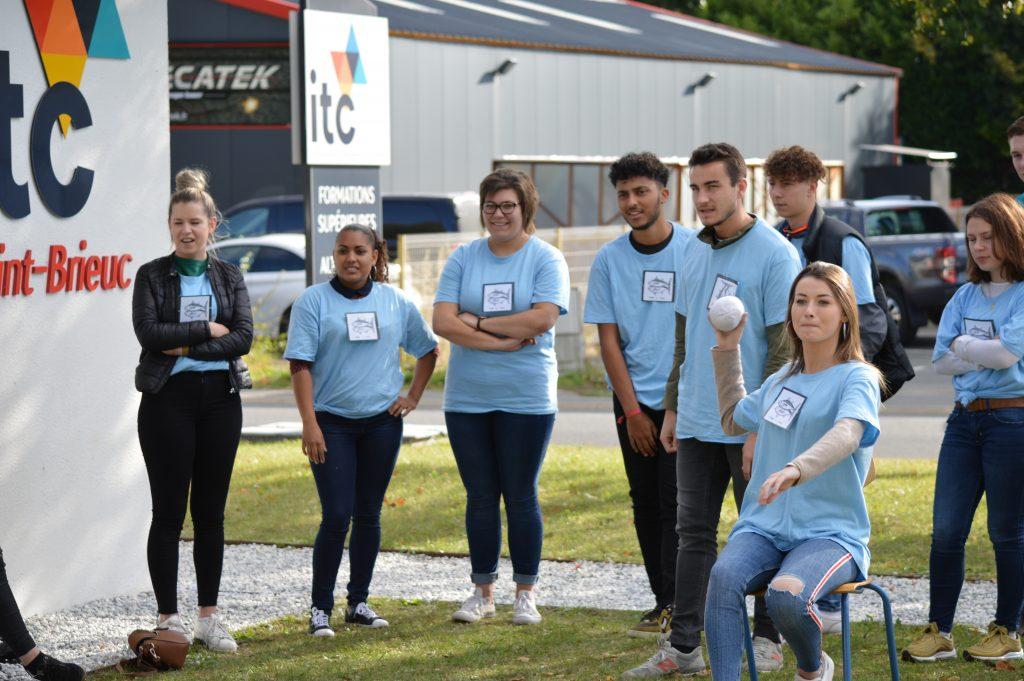 Intégrations des étudiants BTS - ITC Saint-Brieuc