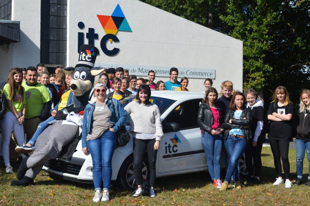 Etudiants BTS - ITC Saint Brieuc