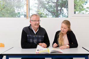 ITC Professeur et étudiante