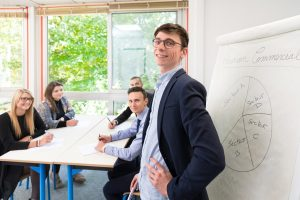 Étudiants Mastère Entrepreneuriat