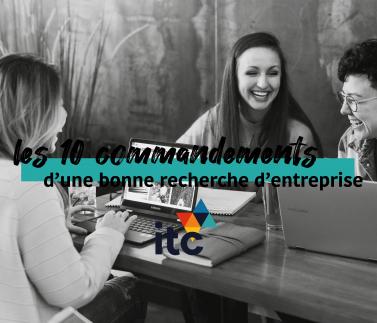 ITC_Formation_10_Commandements_recherche_entreprise_alternance_stage_rentrée_2020